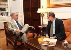 Συνάντηση ΥΠΕΞ Δ. Αβραμόπουλου με Πρέσβη Ισπανίας