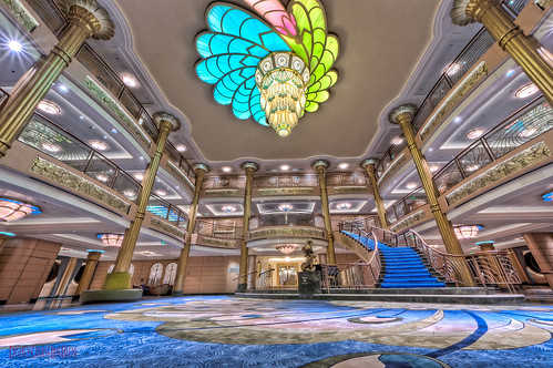 "Disney Fantasy - Lobby Atrium from Deck 3 • <a style=""font-size:0.8em;"" href=""http://www.flickr.com/photos/8980678@N03/7543703134/"" target=""_blank"">View on Flickr</a>"