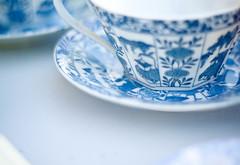 Tea time. (Juliet) Tags: blue italy food rome cup photography time tea giulia stronati