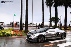 Boulevard De La Croisette (Raphal Belly) Tags: car canon silver french photography eos hotel riviera carlton photographie cannes belly chrome arab 7d 164 abu raphael bugatti sang rb supercar spotting intercontinental pur eb w16 veyron raphal croisette chromed ettore dahbi