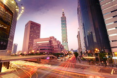 Rush Hours in Taipei101 (michaelrpf) Tags: view taiwan 101 taipei nightscene taipei101   lanscape 101 metronight  mygearandme mygearandmepremium mygearandmebronze mygearandmesilver mygearandmegold