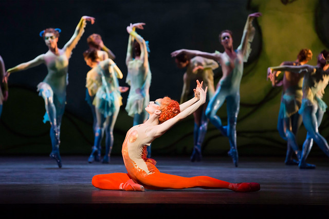 "Marianela Nunez and The Royal Ballet in Diana and Actaeon. Metamorphosis: Titian 2012, a unique collaboration between The Royal Ballet and the National Gallery. <a href=""http://www.roh.org.uk/productions/metamorphosis-titian-2012-by-various"" rel=""nofollow"">www.roh.org.uk/productions/metamorphosis-titian-2012-by-v...</a> The Royal Ballet 2011/12"