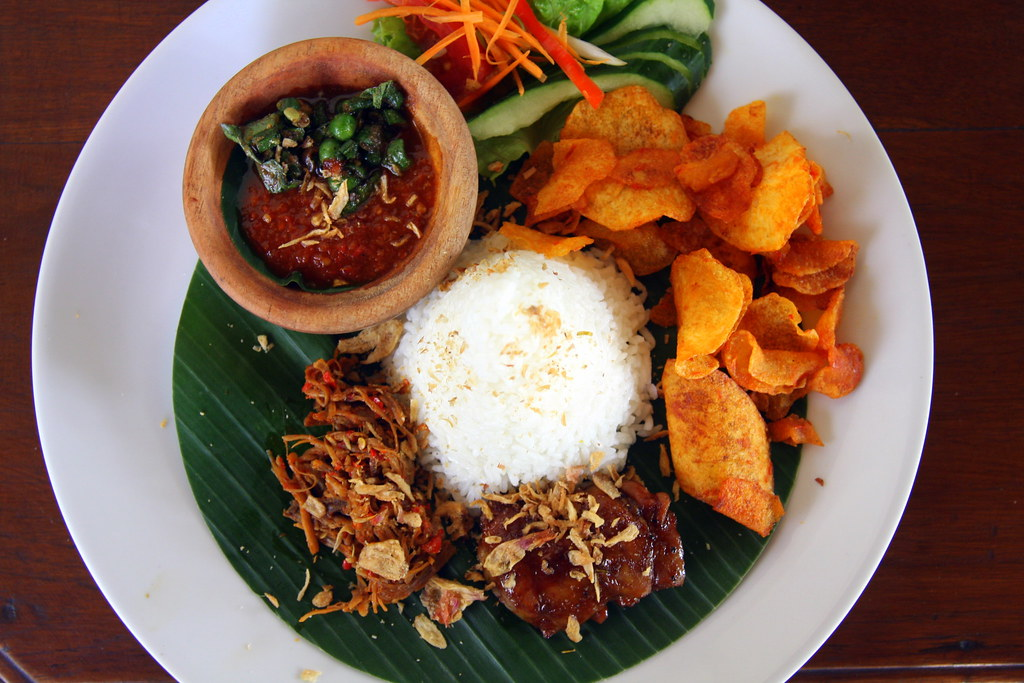 A light lunch, Bandung, West Java, Indonesia