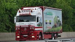 D - Küchler >Arneuba Deutz Fahr Kverneland< MB Actros LH (BonsaiTruck) Tags: camion trucks mb lorries lkw deutz actros fahr kverneland küchler arneuba