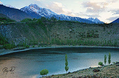 Phander of Ghizer (IshtiaQ Ahmed revival to Photography) Tags: lake history water evening teru chitral ghizer kpk phander ptdc northernareasofpakistan excile gupis ishtiaqahmed ghizerdistrict gilgitbaltistan