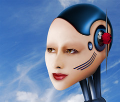 LISA-Blue-S (FOTOFACES PHOTOGRAPHY) Tags: robot cyborg android gynoid