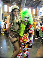 . (the_gonz) Tags: costumes sexy comics manchester dc cool geek expo cosplay character clown culture pop convention batman joker dccomics gotham con mcm thejoker mcmexpo manchestermcmexpo