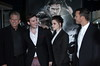 Joe Roth, actors Sam Claflin and Kristen Stewart and director Rupert Sanders The industry screening of 'Snow White & The Huntsman' held at the Mann Village theatre - Arrivals Los Angeles, California