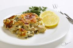 Chicken with potatoes and cream (ANOODONNA) Tags: canon eos 50d canoneos50d alrasheed alanood العنود الرشيد anoodonna العنودالرشيد alanoodalrasheed