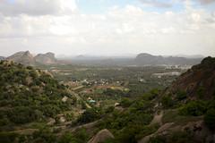 Ramanagaram view from the top (Scalino) Tags: india green temple view hill hills valley karnataka sholay ramanagaram cheesenaan