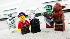 Week 31 (chrisofpie) Tags: 52 52weeks 52weeksofliamthemime brave chrisofpie chris funny hero heroes knight jester minifigure minifig mime lol liam legos legohero lego minifigures outdoors pie project stunningphotogpin stunningphotography toy toys weeks whitejester mummy frankenstein minotaur