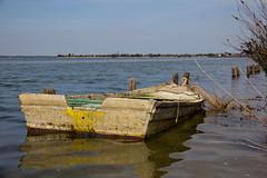 Goro, fishing Village (Kathy~) Tags: italy goro podigoro fishing nautical nets boat ruin decay herowinner gamewinner fc instagram