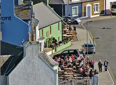 Enjoying the Portpatrick Sun (Jani Helle) Tags: scotland portpatrick dumfriesandgalloway portphdraig northcrescent september2011