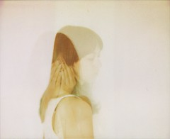 (Leanne Surfleet) Tags: selfportrait colour film polaroid doubleexposure spectra expired softtone leannesurfleet