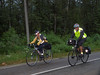 Richard and Jos (BC Randonneurs Photo Gallery) Tags: cycling bcinterior 8980 8906 brevets bcrandonneurs rm1200 clearwatertoblueriver