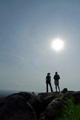 Stephen and I, Sunday Morning, Jebel (Quade Hermann) Tags: africa mountain southsudan urbannature jebel juba quade