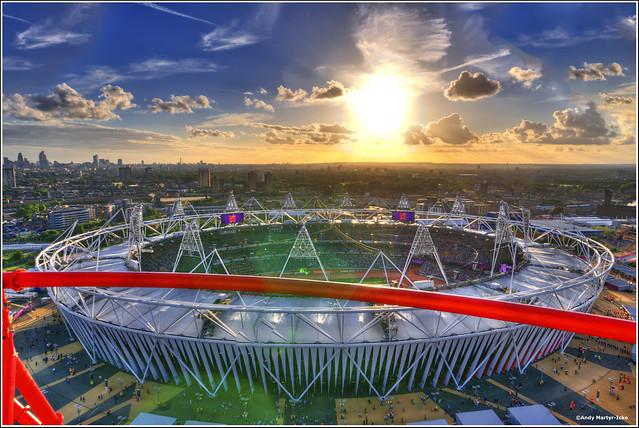 Olympic Stadium from the Orbit