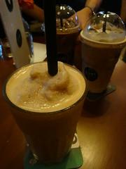Caramel Ice Blended Coffee (LeNutcaseFou) Tags: ice coffee cafe caramel mocha blended cappuccino roost