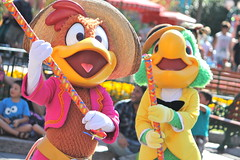 Panchito and Jose-Soundsational (snow1937white) Tags: disneyland jose parade panchito disneylandresort threecaballeros josecarioca thethreecaballeros furcharacters panchitopistoles furcharacter disneyentertainment soundsational mickeyssoundsationalparade donaldsfiestafantastico