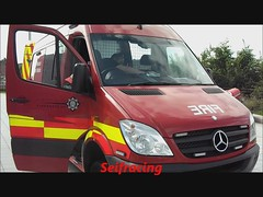 Mercedes Benz Sprinter 4*4 Glasgow2012 (seifracing) Tags: show uk rescue water demo fire lights mercedes scotland team europe glasgow event emergency heavy spotting strathclyde nit scania ecosse seifracing
