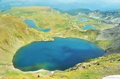 Eye lake , 6 of the 7 RiIa lakes (.:: Maya ::.) Tags: seven rila lakes    sedemte ezera mountain bulgaria national park     trekking summer nature  mayakarkalicheva mayaeye