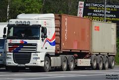 A 186 OC 69RUS daf xf105 white + conteiner statrade (Niko_Russia) Tags: white germany russia d trucks daf rus xf105 statrade 69rus