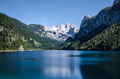 peaceful (Armin Hofen) Tags: mountain lake mountains alps berg landscape austria see sterreich berge alpen lanschaft gosau gosausee gosaulake