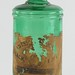 214. Antique Green Glass Bottle