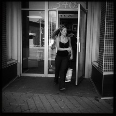 Hipstamatic 50 (Richard Pilon) Tags: street blackandwhite bw candid ottawa streetphotography iphone iphone4 iphoneography hipstamatic