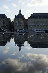 B. Un samedi à Bordeaux... https://www.twin-loc.fr (www.twin-loc.fr) Tags: photo bordeaux picture bourse garonne deau mirroir quais gironde