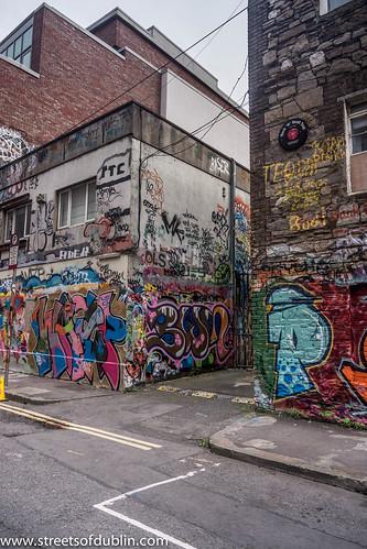 Street Art At Windmill Lane (Dublin)