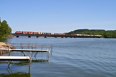 Merrimac, Wisconsin (UW1983) Tags: bridges trains railroads merrimac wsor wisconsinsouthern