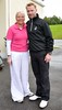 Ronan Keating with sister Linda Keating The 13th Marie Keating Foundation - Celebrity Golf Classic at the K-Club Kildare, Ireland