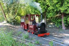 Mine Points (MylesBeevor) Tags: uk wales train miniature tank 14 cymru engine 7 railway loco steam valley locomotive welsh betwsycoed douglas snowdonia conwy cvrm