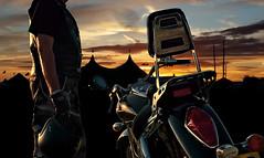 Bulldog Bash 2016 (whosoever1) Tags: hamc hellsangels bulldogbash honda vtx1300 motorbike biker motorcycle sunset marquee warwickshire england uk unitedkingdom greatbritain gb abstract artistic