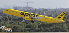 Spirit Airlines | Airbus | A321-231 | N661NK | S/N:6867 (Winglet Photography) Tags: plane airplane aircraft airline airlines airliner jet jetliner flight flying aviation travel transport transportation spotting planespotting georgewidener georgerwidener stockphoto wingletphotography canon 7d dslr fortlauderdale ftlauderdale fll kfll florida fl 2016 south spirit nk nks airbus a321 a321231 n661nk 6867 takeoff departure rotation barefare
