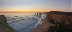 The Twelve Apostles. The Great Ocean Road, Australia. (RViana) Tags: australien australie oceania ozeanien océanie oseania oceanien австралия grandeestradaoceânica granderodoviaoceânica pordosol sunset sundown sunshine pacifiocean oceanopacífico beacheslandscapes