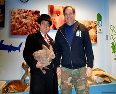 Dr. Takeshi Yamada and Seara (Coney Island Sea Rabbit) visited the Coney Island Polar Bear Club at the Coney Island Beach in Brooklyn, New York on March 27 (Sun), 2016. mermaid. merman.   20160327SUN DSCN4662=-2020pC1, Chuck Antoinette (searabbits23) Tags: searabbit seara takeshiyamada  taxidermy roguetaxidermy mart strange cryptozoology uma ufo esp curiosities oddities globalwarming climategate dragon mermaid unicorn art artist alchemy entertainer performer famous sexy playboy bikini fashion vogue goth gothic vampire steampunk barrackobama billclinton billgates sideshow freakshow star king pop god angel celebrity genius amc immortalized tv immortalizer japanese asian mardigras tophat google yahoo bing aol cnn coneyisland brooklyn newyork leonardodavinci damienhirst jeffkoons takashimurakami vangogh pablopicasso salvadordali waltdisney donaldtrump hillaryclinton polarbearclub