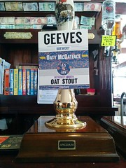 Geeves Oaty McOatface (DarloRich2009) Tags: oatymcoatface geevesbrewery geevesoatymcoatface stout brewery beer ale camra campaignforrealale realale bitter hand pull