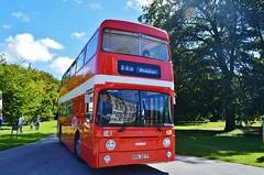 1397  NRN397P (PD3.) Tags: 1397 nrn397p nrn 397p leyland atlantean park royal roe rvpt ribble vehicle preservation trust bus buses lytham hall st annes lancashire classic blackpool