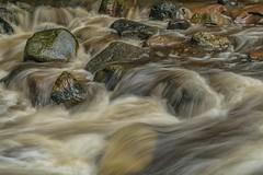 On the Rocks (Doug Wallick) Tags: nine mile creek water flow rocks rain heavy bloomington minnesota park trails rush flowing