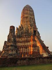 Ayutthaya - Wat Chai Watthanaram (eltpics) Tags: eltpics thailand ayutthaya wat buddhism buddhist ruins romantic sunset evening