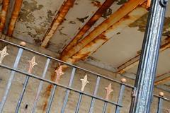 Fleur De Rust (dhcomet) Tags: bridlington yorkshire seaside harbour rust railing steel fleurdelis