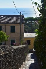 montemarcello (dinapunk) Tags: montemarcello italy liguria sea street
