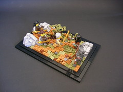 At Any Cost (Mr. Cab) Tags: foitsop medieval lom landscape moc lego