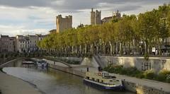 Le Canal de la Robine  Narbonne (Michel Seguret Thanks all for 9.000 000 views) Tags: france aude narbonne ville cit city town citta ciudad staat stadt michelseguret nikon d800 pro