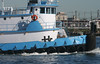 CHARLES A in New York, USA. August, 2016 (Tom Turner - SeaTeamImages / AirTeamImages) Tags: charlesa tug tugboat blue vessel spot spotting water waterway channel kvk killvankull tomturner statenisland newyork bigapple unitedstates usa nyc marine maritime pony port harbor harbour transport transportation tires bluetrim