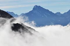 Eagle Peak. Chugach State Park, Alaska (Paxson Woelber) Tags: alaska mountains landscape chugachmountains chugachstatepark alaskahiking alaskalandscape alaskascenery abovetheclouds mountainhikes mountain eaglepeak eaglepeakalaska mountainsaboveclouds mountainscape mountainphotography mountainsofalaska alaskamountains alaskamountain