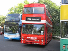 Northern 501 UTN501Y Donington Park Circuit attending Showbus 2016 (1280x960) (dearingbuspix) Tags: 501 preserved showbus showbus2016 northern utn501y