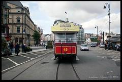 The back-end of a tram (zweiblumen) Tags: horsetram douglas doolish isleofman ellanvannin canoneos50d polariser zweiblumen